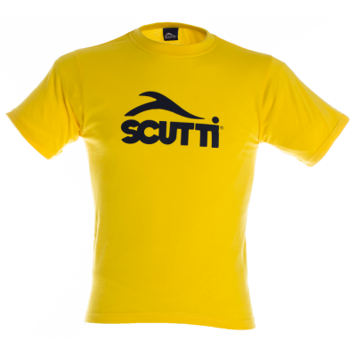 Scutti Sportswear Kids tshirt in Yellow